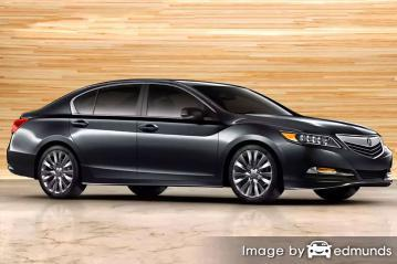 Insurance quote for Acura RLX in Tulsa