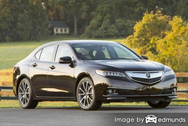 Insurance quote for Acura TLX in Tulsa