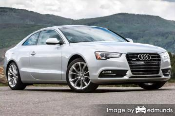 Insurance quote for Audi A5 in Tulsa
