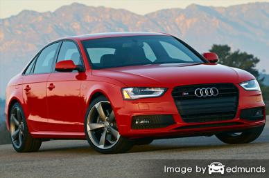Insurance quote for Audi S4 in Tulsa