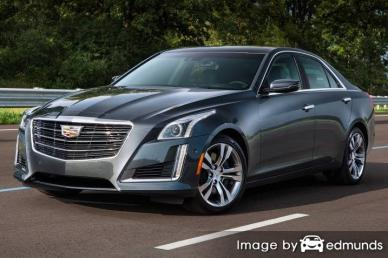 Insurance rates Cadillac CTS in Tulsa