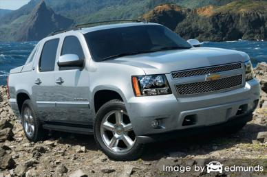 Insurance quote for Chevy Avalanche in Tulsa