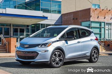 Discount Chevy Bolt EV insurance