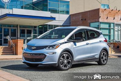 Discount Chevy Bolt insurance