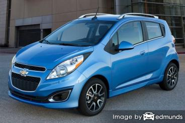 Insurance quote for Chevy Spark in Tulsa