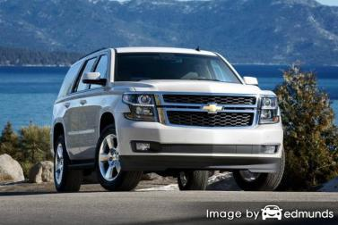 Insurance rates Chevy Tahoe in Tulsa