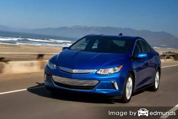 Insurance quote for Chevy Volt in Tulsa