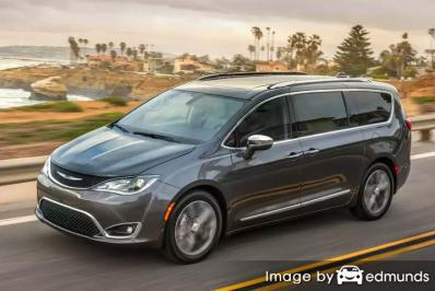 Insurance quote for Chrysler Pacifica in Tulsa