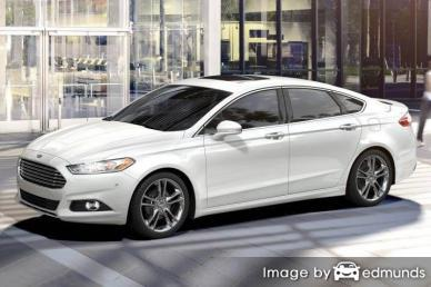 Insurance quote for Ford Fusion in Tulsa