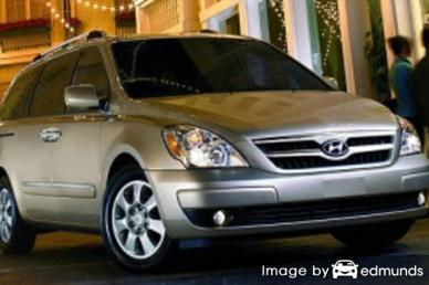Insurance quote for Hyundai Entourage in Tulsa