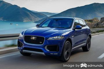 Insurance quote for Jaguar F-PACE in Tulsa