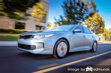 Insurance rates Kia Optima Plug-In Hybrid in Tulsa
