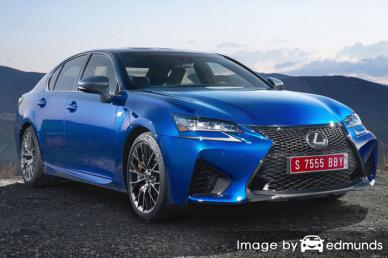 Insurance quote for Lexus GS F in Tulsa