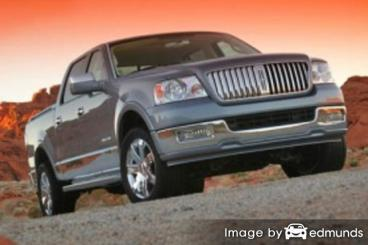 Insurance rates Lincoln Mark LT in Tulsa
