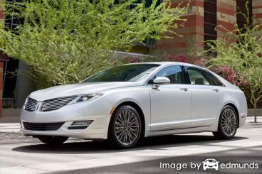 Insurance rates Lincoln MKZ in Tulsa