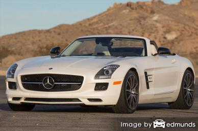Discount Mercedes-Benz SLS AMG insurance