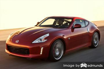 Insurance rates Nissan 370Z in Tulsa
