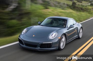 Insurance quote for Porsche 911 in Tulsa