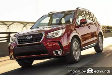 Insurance quote for Subaru Forester in Tulsa