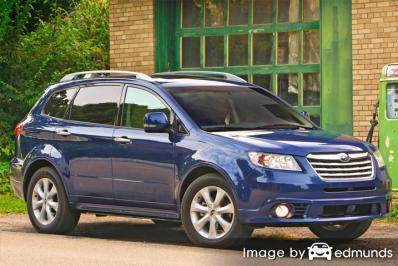 Discount Subaru Tribeca insurance