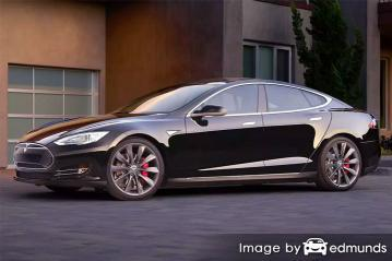 Insurance quote for Tesla Model S in Tulsa