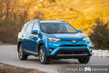 Insurance quote for Toyota Rav4 Hybrid in Tulsa