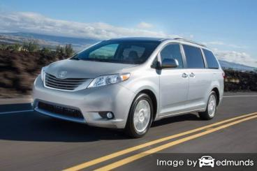 Insurance quote for Toyota Sienna in Tulsa