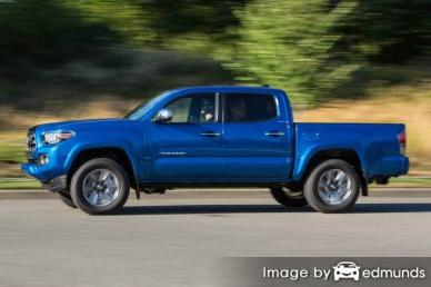Discount Toyota Tacoma insurance